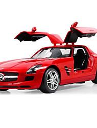 baratos -Carro com CR Rastar 47600 4CH Infravermelho Carro 1:14 8 km/h KM / H Controle Remoto / Luminoso
