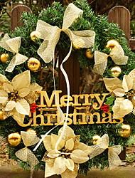 baratos -Enfeites de Natal Férias De madeira Redonda Novidades Decoração de Natal