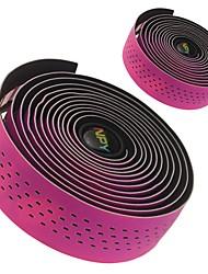baratos -Guiador Tape / Guiador Set Não Deforma, Anti-Shake, Anti-Derrapante Ciclismo de Estrada / Bicicleta  Roda-Fixa Eco PC / PU Verde / Azul / Rosa claro - 1 pcs