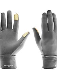 Недорогие -Спортивные перчатки Перчатки для велосипедистов / Перчатки для сенсорного экрана Сохраняет тепло / Мягкость Полный палец Лайкра спандекс Велосипедный спорт / Велоспорт Универсальные
