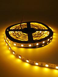 Недорогие -hkv® 5m 5050 светодиодная настольная лампа красного цвета желтого цвета без водонепроницаемости 300led свет сада свет гибкая светодиодная лента