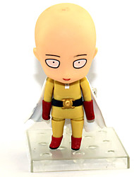 Недорогие -Аниме Фигурки Вдохновлен Один удар Человек Uchiha Obito Сайтама ПВХ 9 cm См Модель игрушки игрушки куклы