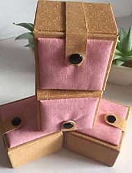 Недорогие -Место хранения организация Ювелирная коллекция Хлопок Прямоугольная форма Открытая крышка