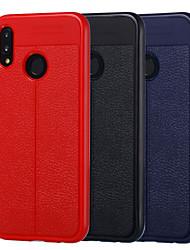 Недорогие -Кейс для Назначение Huawei Huawei P20 / Huawei P20 lite / P10 Lite Защита от удара / Защита от пыли Чехол Однотонный Мягкий ТПУ