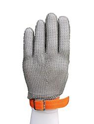 Недорогие -51001-xxl высококачественная нержавеющая сталь сетчатый нож режущая защитная кольчужная защитная перчатка