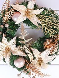 baratos -Guirlandas Férias Plástico Redonda Novidades Decoração de Natal