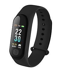economico -Intelligente Bracciale YY-M3PLus per Android iOS Bluetooth Impermeabile Monitoraggio frequenza cardiaca Misurazione della pressione sanguigna Schermo touch Calorie bruciate Pedometro Avviso di