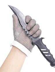 Недорогие -5101-s высококачественная нержавеющая сталь сетчатый нож режущая защитная кольчужная защитная перчатка