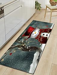 Недорогие -ковры для рождественских украшений рождественский полистер, прямоугольник высшего качества ковер