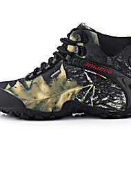 Недорогие -Муж. Альпинистские ботинки Вибрам Отдых и Туризм С защитой от ветра, Водонепроницаемость, Пригодно для носки Ткань Желтый / Серый