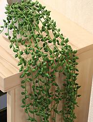 Недорогие -Искусственные Цветы 1 Филиал С креплением на стену Модерн / Пастораль Стиль Суккулентные растения Цветы на стену