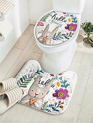 Недорогие -Коврики для выпечки / Сиденье для унитаза / Оболочка для унитаза обожаемый / Креатив Мода / Modern Полиэстер 1 комплект - Чистка Аксессуары для туалета