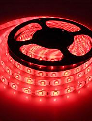 abordables -5m Bandes Lumineuses LED Flexibles 300 LED SMD5630 Rouge / Bleu / Vert Imperméable / Découpable / Connectible 12 V 1pc / Auto-Adhésives