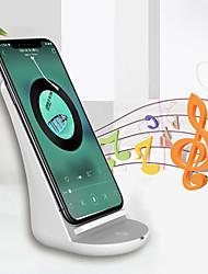 Недорогие -Беспроводное зарядное устройство Зарядное устройство USB USB с кабелем / КК 2.0 / QC 3.0 Не поддерживается 1.1 A DC 9V для iPhone X / iPhone 8 / Nokia Lumia 1020