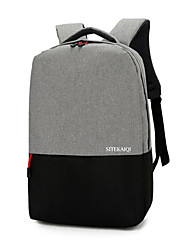 cheap -Men's Bags Oxford Cloth School Bag Zipper Black / Gray / Fuchsia
