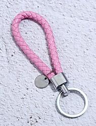 abordables -Porte-clés Rouge / Bleu / Rose Irrégulier Cuir, Alliage Basique, Mode Pour Quotidien / Ecole