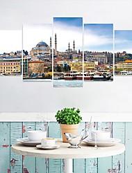 abordables -Autocollants muraux décoratifs - Autocollants muraux 3D Paysage Salle de séjour / Chambre des enfants