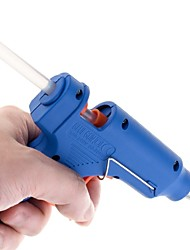 Недорогие -горячий расплав клея пистолет с 5 штук клей stick промышленные мини-пушки термоэлектрический инструмент температуры тепла случайный цвет