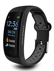 baratos -Pulseira inteligente JSBP-Q6S para Android iOS Bluetooth Esportivo Impermeável Monitor de Batimento Cardíaco Medição de Pressão Sanguínea Tela de toque Temporizador Podômetro Aviso de Chamada Monitor
