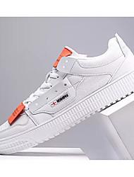 abordables -Homme Chaussures de confort Polyuréthane Printemps & Automne Basket Blanc / Noir / Beige