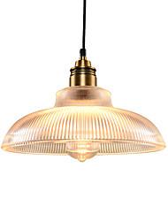 Недорогие -северная Европа современный стеклянный кулон свет винтажная гостиная столовая прихожая кафе подвеска лампа