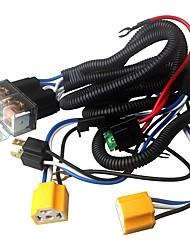 Недорогие -ziqiao h4 фара 7-дюймовый релейный релейный провод жгут проводов автомобильная лампочка разъем для автомобильной автоматической фары