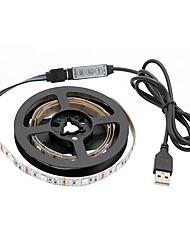 abordables -1m Guirlandes Lumineuses 30 LED SMD5050 RVB Découpable / USB / Décorative Alimenté par Port USB 1 set