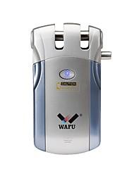 baratos -wafu® controle remoto sem fio inteligente fechadura da porta de entrada sem chave bloqueio de controle remoto (wf-018) 4 chaves remotas