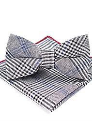 Недорогие -Универсальные Классический Платок / аскотский галстук - Бант Контрастных цветов / В клетку