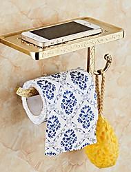 Недорогие -Держатель для туалетной бумаги Новый дизайн / Cool Античный Металл 1шт На стену
