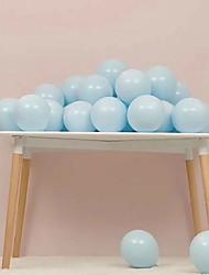 abordables -Ballons Rondes Créatif Soirée Dé orations de Fête 100 pcs