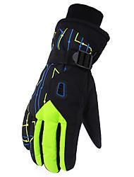Недорогие -Лыжные перчатки Муж. / Жен. Полный палец Сохраняет тепло / Защитный Ткань Катание на лыжах Зима