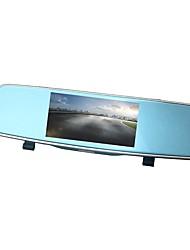 Недорогие -ZIQIAO XR805 720p / 1080p HD / Ночное видение / Двойной объектив Автомобильный видеорегистратор 170° Широкий угол Датчик CMOS 5 дюймовый IPS Капюшон с Ночное видение / G-Sensor / Режим парковки