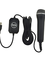 Недорогие -XBOX360 Wii PS2 PS3 Проводное Микрофоны Назначение Xbox 360 ,  Портативные Микрофоны ABS 1 pcs Ед. изм