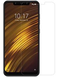 economico -Pellicola salvaschermo per Xiaomi xiaomi pocophone f1 in vetro temperato 1 pz anteriore& protezione per la fotocamera ad alta definizione (hd) / 9h di durezza / a prova di esplosione