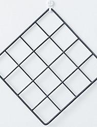 Недорогие -В форме листа Декор стены Металл европейский Предметы искусства, Металлические украшения на стену Украшение