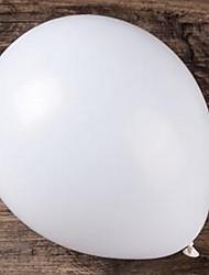 Недорогие -Воздушные шары Круглые Творчество Вечеринка Декорации для вечеринок 100 шт