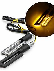 Недорогие -2pcs Мотоцикл Лампы 0.5 W SMD 3528 3000 lm 15 Светодиодная лампа Лампа поворотного сигнала Назначение Мотоциклы Все года