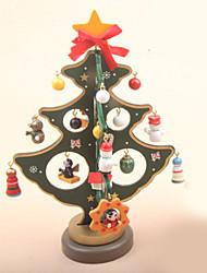 abordables -Décorations de Noël Vacances / Arbre de Noël En bois / Plastique arbre de Noël Nouveautés Décoration de Noël