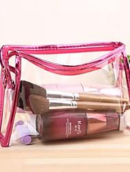 Недорогие -pvc косметические сумки для женской моды прозрачный макияж сумка леди путешествие туалетная сумка косметическая сумка сумки косметический подарок кейс