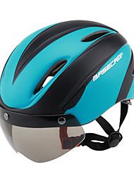 Недорогие -Взрослые / Средний уровень Мотоциклетный шлем 9 Вентиляционные клапаны ESP+PC, ПК Виды спорта Велосипедный спорт / Велоспорт / Велоспорт / Мотоцикл - Пурпурный / Зеленый / Синий Универсальные