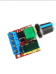 Недорогие -dc 5v-35v 5a 20khz led pwm контроллер контроллера регулятора скорости регулятора управления с индикатором