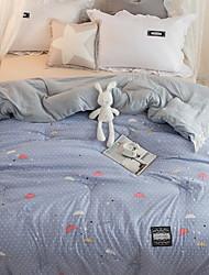 Недорогие -удобный - 1 одеяло Зима Полиэстер Геометрический принт