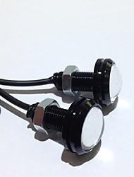 Недорогие -2шт дневной ходовой фонарь источник резервная реверсивная сигнальная лампа для парковки водонепроницаемая 23мм светодиодная орел