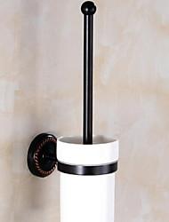 Недорогие -Держатель для ёршика Новый дизайн / Cool Modern Латунь 1шт Держатели для туалетной щетки На стену