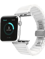 Недорогие -Ремешок для часов для Apple Watch Series 4/3/2/1 Apple Классическая застежка Керамика Повязка на запястье