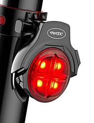 Недорогие -Велосипедные фары / Waterproof / задние фонари Светодиодная лампа Велосипедные фары LED Велоспорт Водонепроницаемый, Портативные, Для профессионалов Литий-полимерная 50 lm Перезаряжаемый Красный