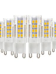 Недорогие -YWXLIGHT® 6шт 4 W Двухштырьковые LED лампы 300-400 lm E14 G9 G4 T 51 Светодиодные бусины SMD 2835 Тёплый белый Холодный белый 220-240 V