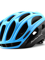 cheap -Scohiro-Work Adults Bike Helmet 34 Vents CE / CE EN 1077 Impact Resistant, Light Weight, Adjustable Fit EPS, PC Sports Road Cycling / Recreational Cycling / Cycling / Bike - Green / Blue / Black / Red