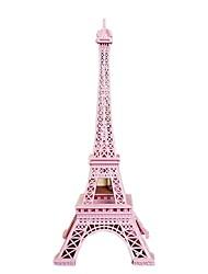 Недорогие -18cm розовый france paris модель Эйфелевой башни модель домашнего украшения металлическая модель